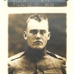 WWI WW1 ancestor photograph from genealogy research of military records at the National Archives