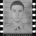 WWII ancestor photograph from genealogy research of military records at the National Archives