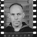 enlistment image of WW2 sailor
