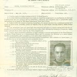ww2 ancestor photograph from genealogy research of military records at the National Archives officer file